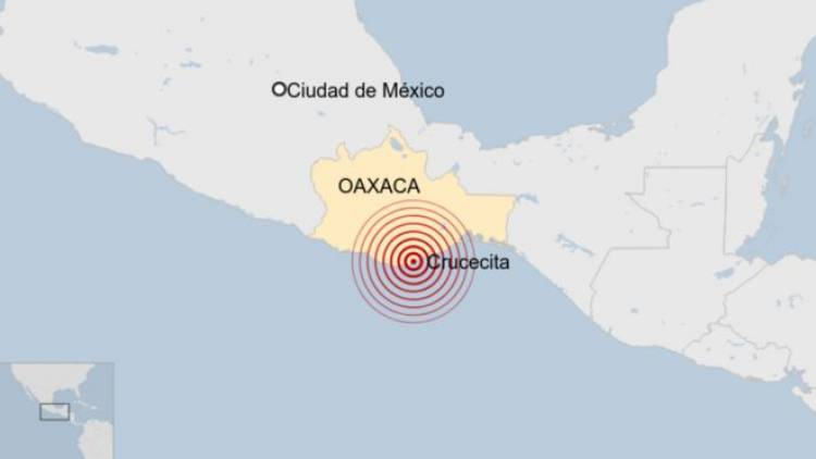 Sismo originado en el sureste de México fue percibido intensamente en CDMX la mañana de este martes