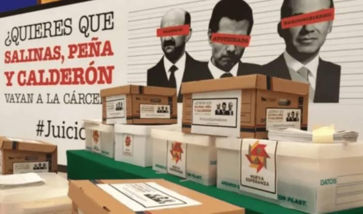 Inicia INE primera fase de revisión a 80 cajas con firmas para consultas populares