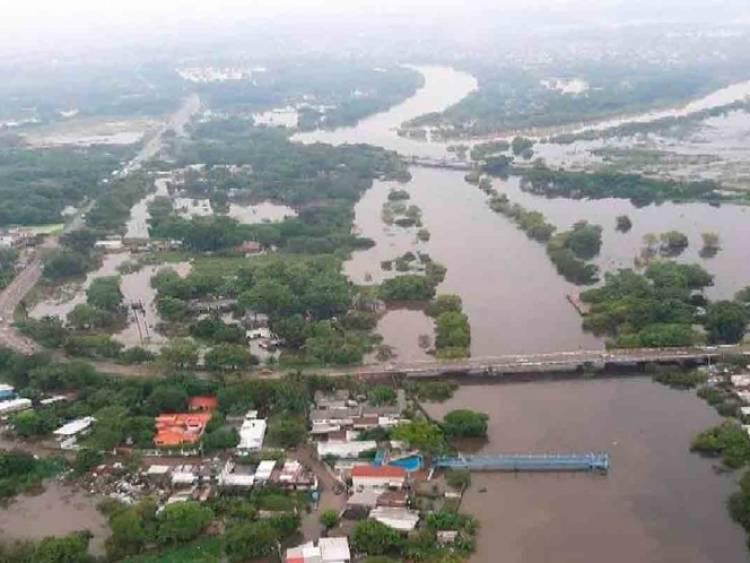 Van 16.7 millones de metros cúbicos de agua desalojada en Tabasco