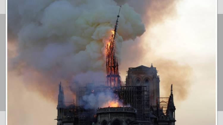 Tú puedes ayudar a reconstruir la aguja de Notre Dame