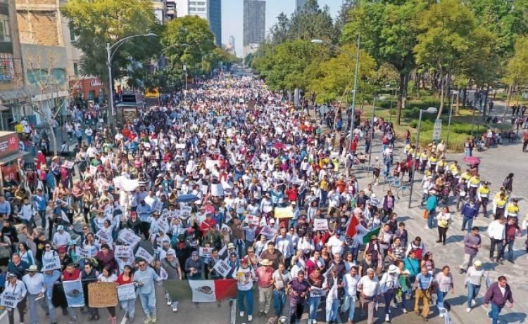 Alertan por 11 marchas y bloqueos en CDMX