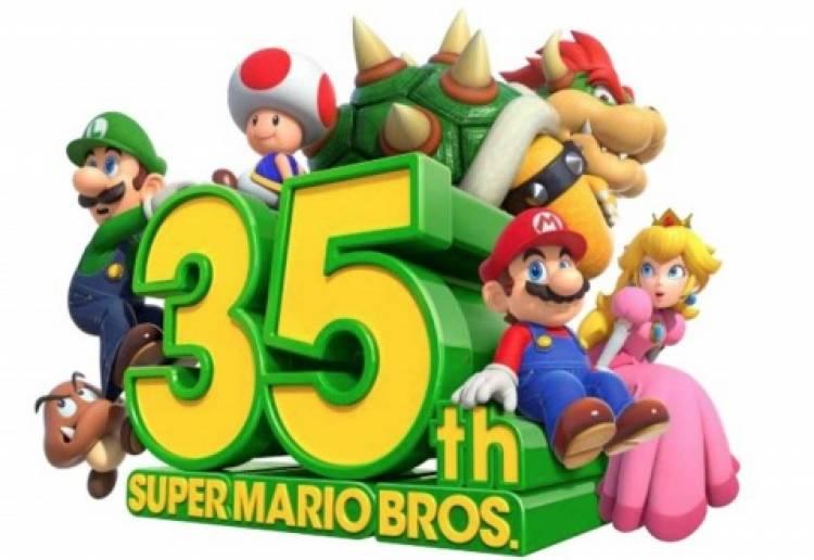 Nintendo relanzará juegos de Mario en su #35 aniversario