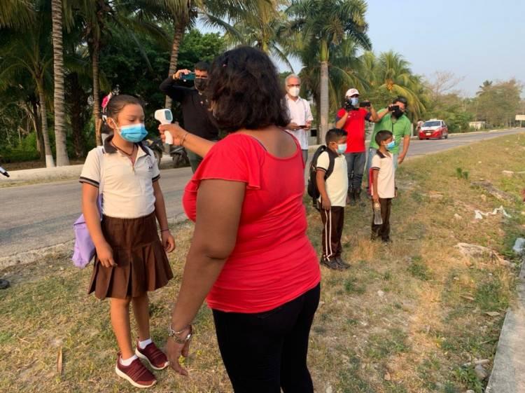 Regresan a clases presenciales en Campeche