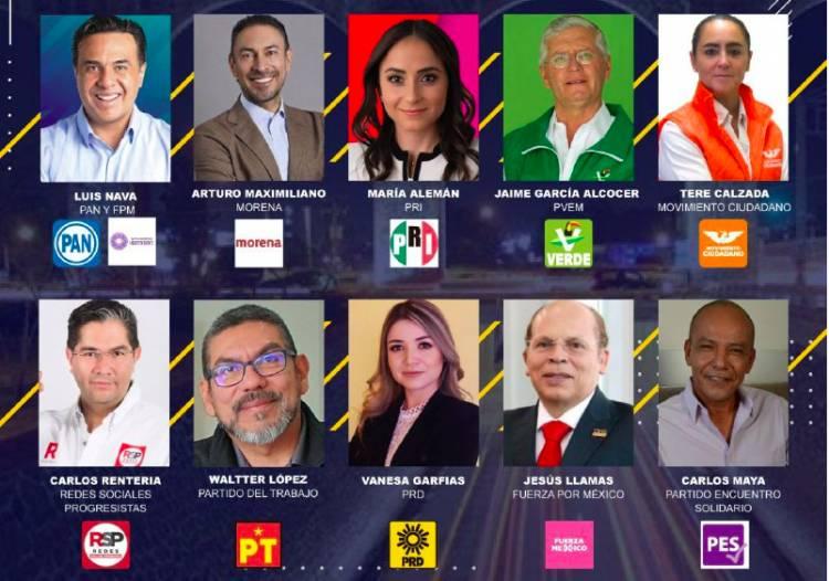 Resumen de actividades candidatos a la presidencia municipal de Querétaro