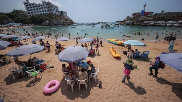 Turismo internacional en México repunta un 143.7 por ciento interanual en julio